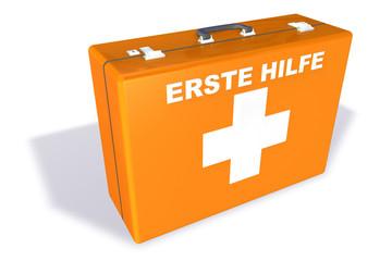Erste Hilfe - Koffer