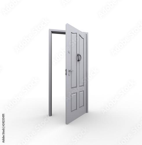 Porta Aperta Di Marsil Foto Stock Royalty Free 24235491