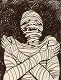 Creepy Mummy poster