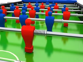 calcetto rendering 3d sport