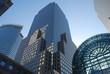 Rascacielos en la ciudad de Manhattan