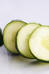 cucumber grown in the Ecuadorian highlands