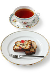 Christmas Fruitcake and Tea