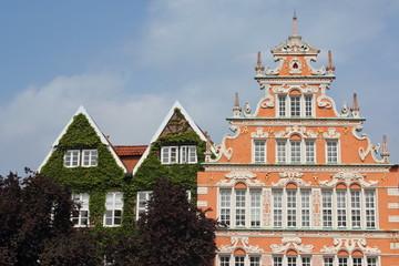 Historische Giebelhäuser