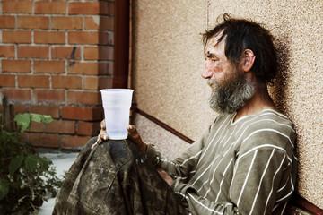 Despair of homeless.