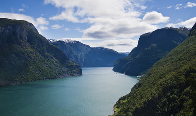 Aurland in Norway
