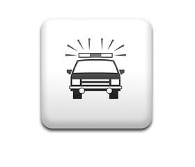Boton cuadrado blanco coche de policia