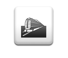 Boton cuadrado blanco ferrocarril