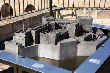 Maquette de la citadelle de Jerusalem