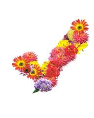 flower mark