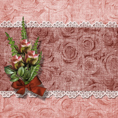 The vintage background for invitation and photo.