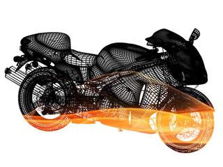 Moto wireframe