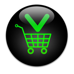 Black button Buy