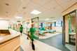 View over a modern hospital room - 24269042