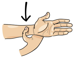 special acupressure point on hand
