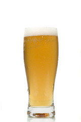 Beer Glass isolated on a white