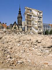 Abriss in Leipzig