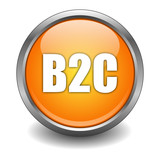 B2C Button poster
