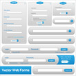 Vector Web Form Templates
