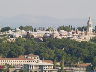 Palacio de Topkapi, joya de Estambul ,Turquía