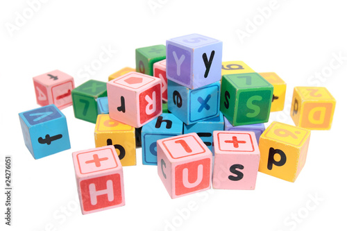 assorted play blocks