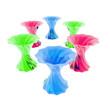 Sechs bunte Vasen