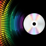 Fototapety CD and Equalizer