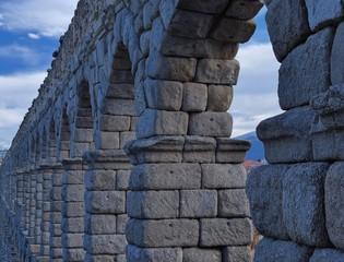 Arcos  de acueducto,Segovia,España
