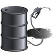 Schwarzes Erdöl