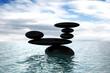 group of stones balanced