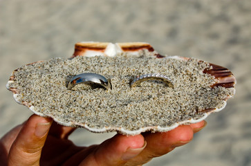 Rings In Clam Sand