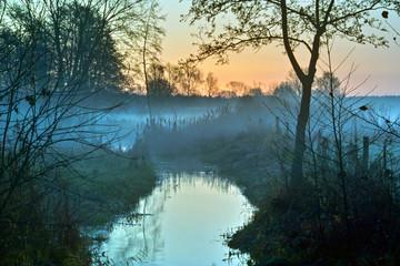 Morgengrauen am Silbergraben