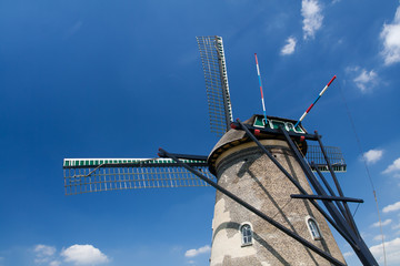 Details of dutch windmill
