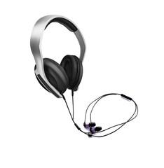 Headphones, listen to the Music