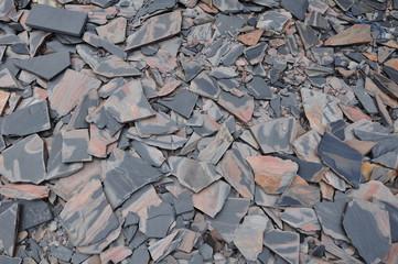 free form slate stone sheet