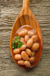 borlotti beans - fagioli borlotti