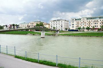 River at Salzburg, Austria