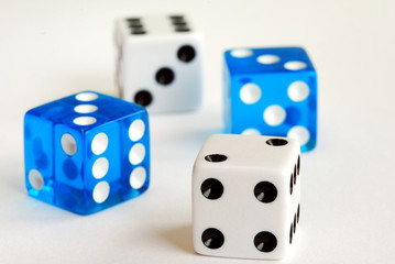Gambling with dices concepts of taking risk