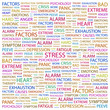 STRESS. Wordcloud illustration.