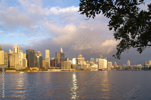 Darling Harbor Panorama Sydney Australia