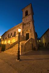 Umbria, Norcia, Torre e Palazzo Comunale