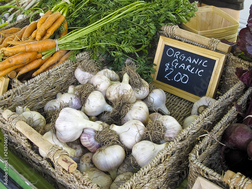 Garlic at Farmers' Market