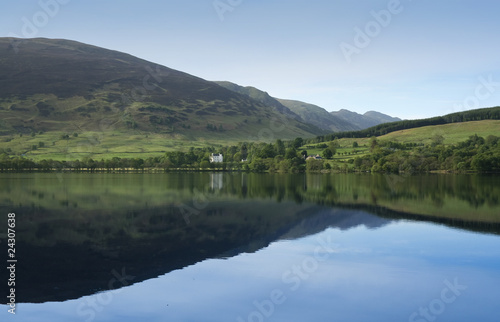 loch earn calm blue waters