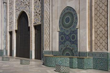 Casablanca - Moschea Hassan II - esterno