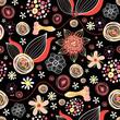 Flower summer pattern