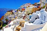 Fototapety amazing Santorini