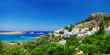 Pictorial Greek island - Rhodes (Lindos)