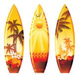 Fototapety 3 surf boards