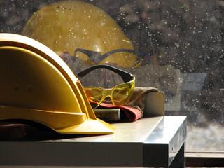 Builder's hard hat