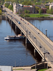 Stone Bridge in Riga